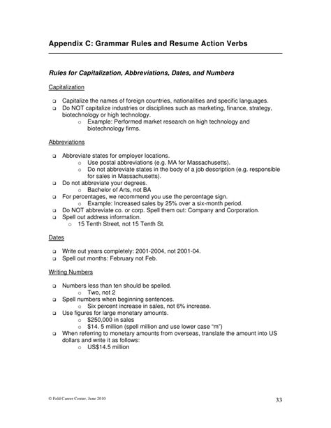 Mba Abbreviation by Writing Mba Resumes