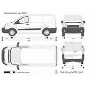 The Blueprintscom  Vector Drawing Citroen Dispatch Van