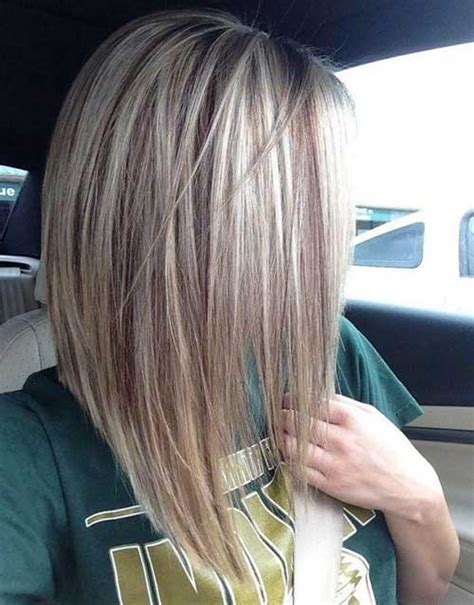 hair cut with a defined point in the back 15 blonde bob hairstyles short hairstyles 2016 2017