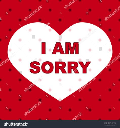 sorry day i am single sorry design stock vector 371037872