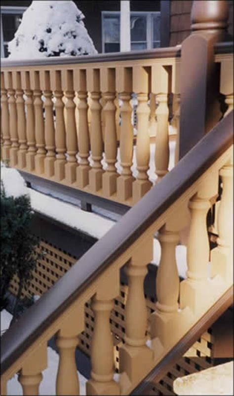 Turned Balusters Porch Balusters Megastore Wood Synthetic Porch Spindles