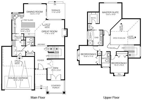 House Plans The Henderson   Cedar Homes
