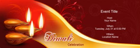 Invitation Letter Diwali Celebrations Free Diwali Deepavali Invitation With India S 1 Tool