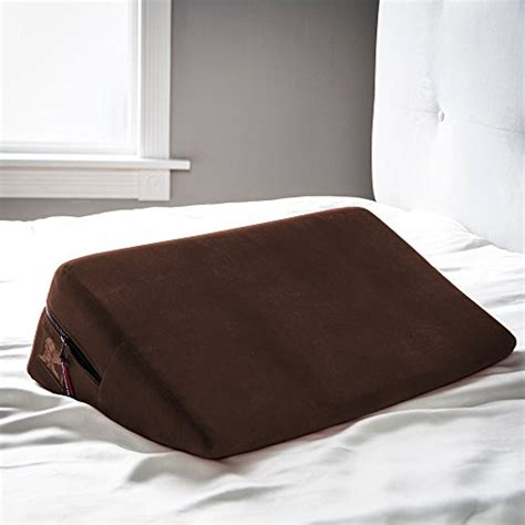 the liberator couch liberator wedge intimate positioning pillow chocolate