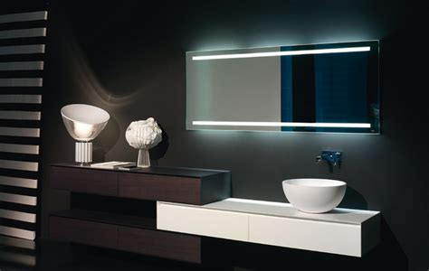 bathroom mirrors contemporary antonio lupi back lit mirrors modern bathroom mirrors