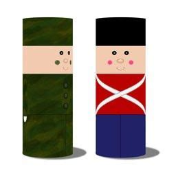 toy soldier craft for kids soldier craft pringles can for the classroom soldiers
