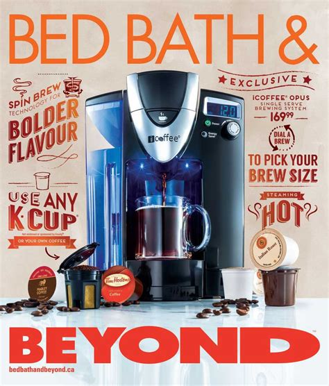 bed bath and beyond flyer bed bath and beyond april circular canada