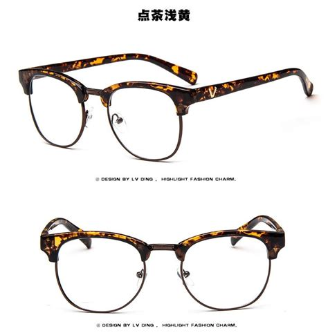 Bingkai Kacamata vintage retro kacamata pria kacamata bingkai kacamata