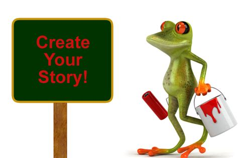 how to create a story create your story