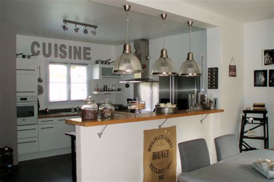 petit n駮n de cuisine modele cuisine ouverte salon cuisine en image