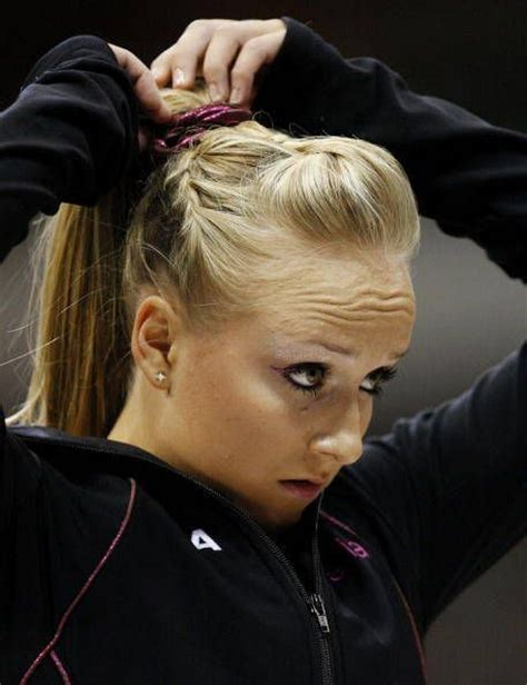 how to wear hair for gymnastic meet gallery of nastia liukin photographs competition hair