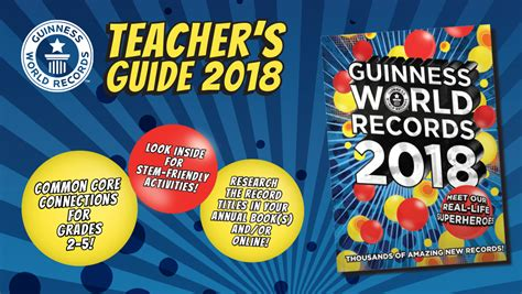 guinness world records 2018 edition books educators guinness world records