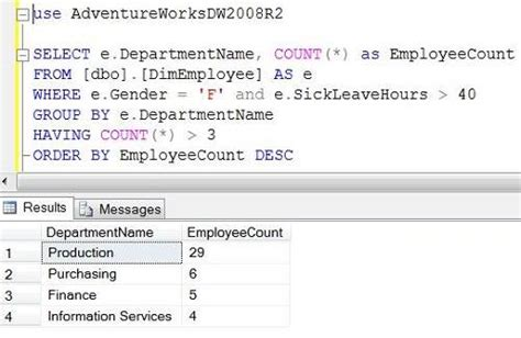 tutorial on sql queries with an exle advanced sql query tutorial with exles sql queries exles