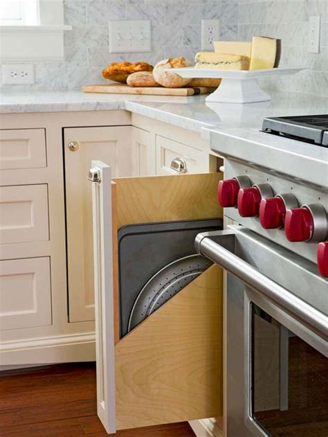 cookie sheet storage cabinet top cabinetry trends stove kitchen cabinetry and cabinets