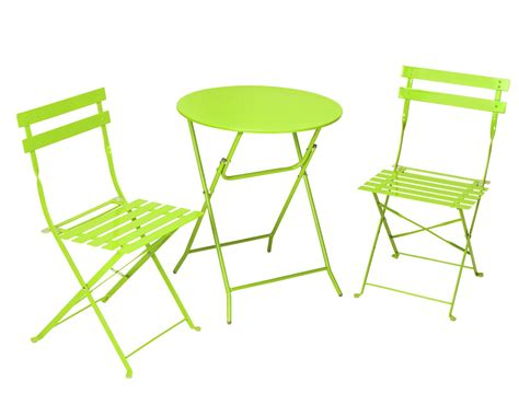 Cosco products cosco outdoor living all steel 3 piece folding bistro patio table and chairs