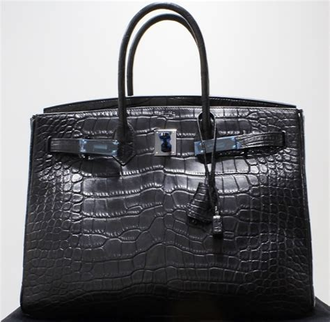 Hermers Swagger Croco Limited like new limited edition so black croco 35cm hermes birkin bag sgd 0 hj jewellery