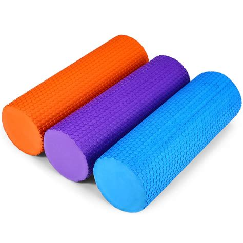 3 93 inches pilates fitness foam roller physio blocks exercise cure trigger