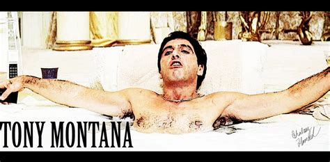 scarface bathtub tony montana scarface by seanyg46 on deviantart