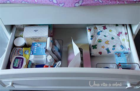 Organizzare Cassetti Bagno by Come Organizzare Il Fasciatoio