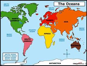 Ocean World Map by World Ocean And The Great Barrier Reef Ingpeaceproject Com