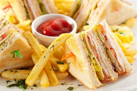 Chicken Club Toaster Club Sandwich Netmums