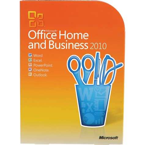 microsoft office home and business 2010 software t5d 00417 b h