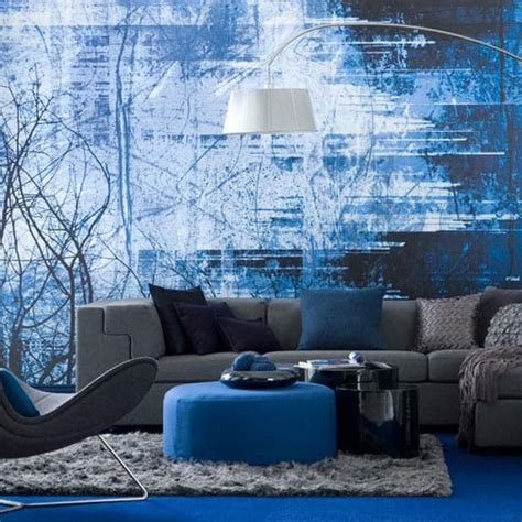 blue living rooms ideas design dilemma monochromatic rooms
