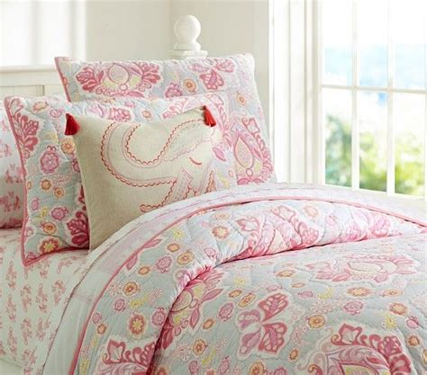 pottery barn girls bedding elyse quilted bedding pottery barn kids big girl room