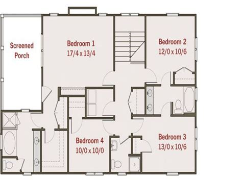 4 Bed Bungalow House Plans by 4 Bedroom Bungalow House Plans Unique 4 Bedroom House