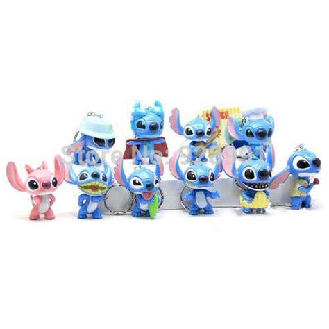 Figure Lilo And Stitch Isi 8 Pcs 1 10 pcs anime figure pop lilo and stitch pvc figures keychains set baby jpg