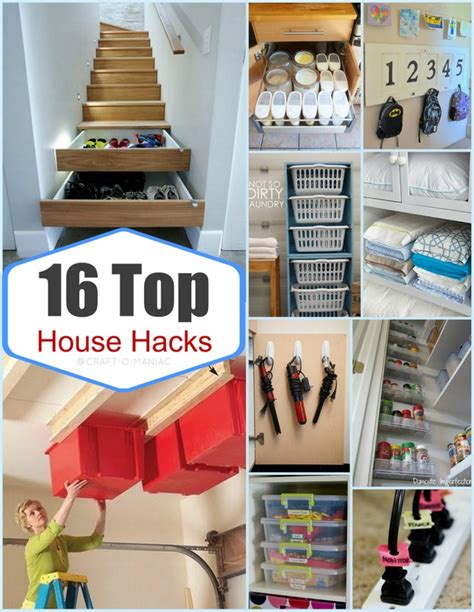 house hacks top 16 house hacks craft o maniac