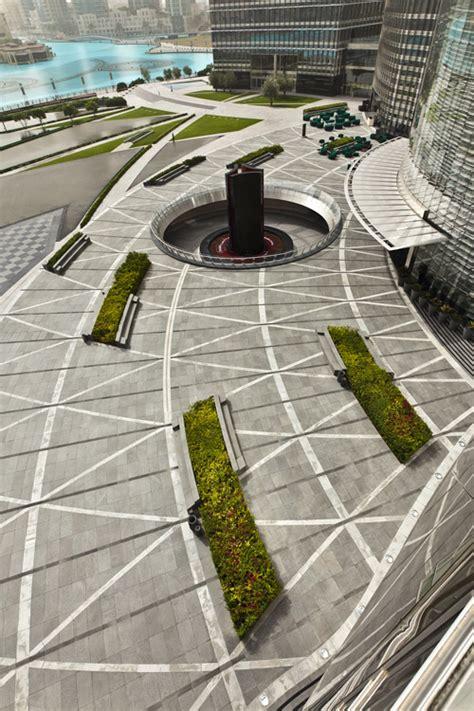 Landscape Architecture Materials Burj Khalifa Park By Swa 171 Landscape Architecture