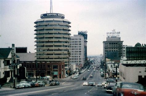 Records Los Angeles Capitol Records Building Los Angeles Metropolitan Area Building