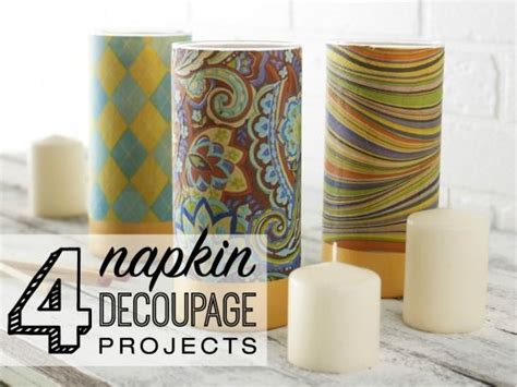 Decoupage Tutorial Napkin - best 25 napkin decoupage ideas on decoupage