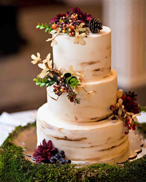Simple Wedding Cake Ideas For Fall by 66 Fall Wedding Cakes We Re Obsessed With Martha Stewart
