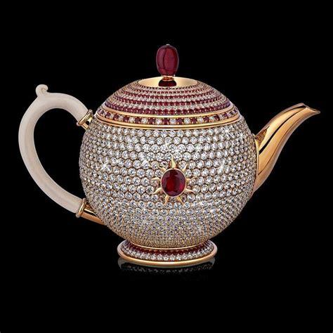 top 5 most expensive teas in the world top10zen stir crazy the world s most expensive teapot beaded top