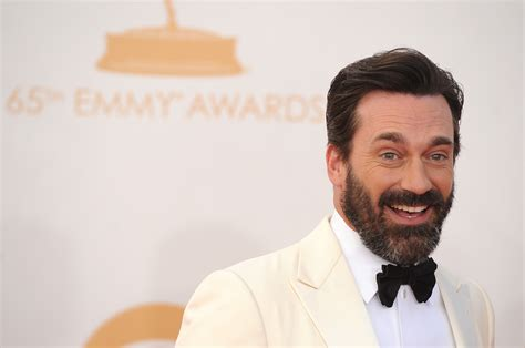 jon hamm beard emmy awards 2013 best and worst moments canada com