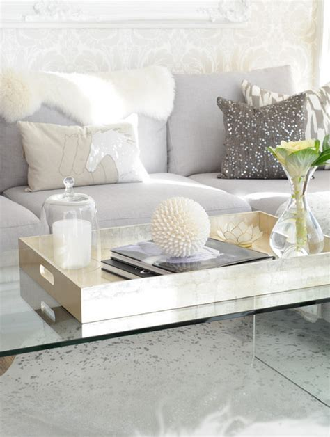 gray coffee table tray lucite coffee table xl gold tray accessories