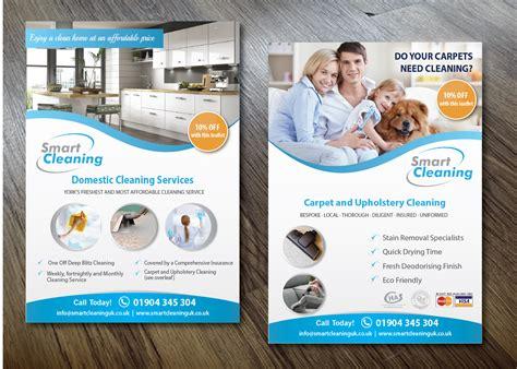 design cleaning flyer modern professional flyer design for benjamin hirst by