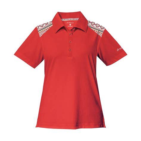 Harga Baju Golf jual svingolf tribal polo flag baju golf wanita