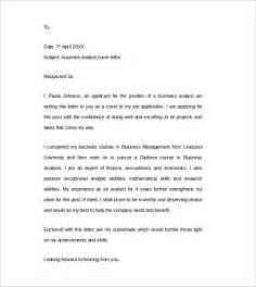 business analyst templates free cover letter exle 24 free documents in word