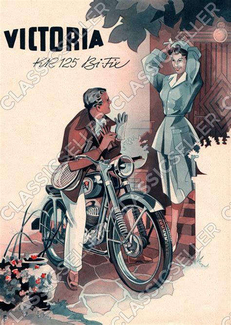 Victoria Motorrad Bilder by Victoria Kr 125 Kr125 Bi Fix Bifix Motorrad Poster Plakat Bild