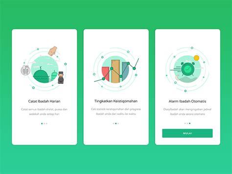 home design app user guide diaryibadah guidescreen by faiz al qurni dribbble