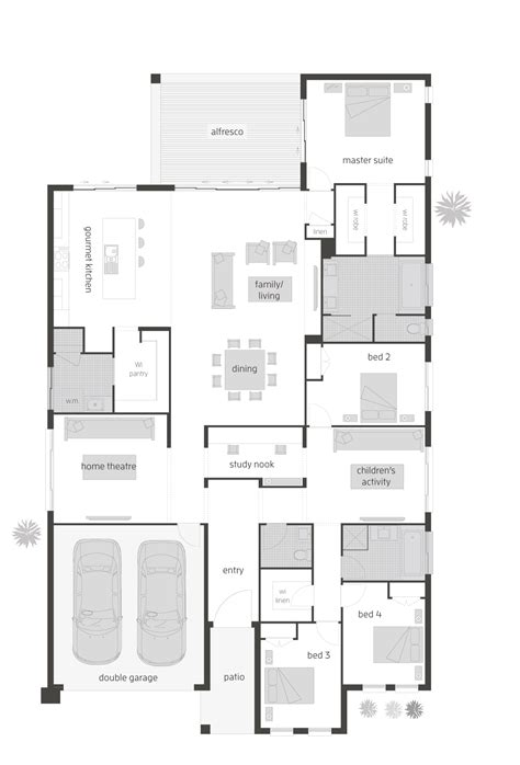 oasis floor plan oasis two floor plan by mcdonald jones exclusive to