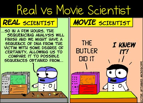 biography movie of scientist real vs movie scientist 6 the upturned microscope