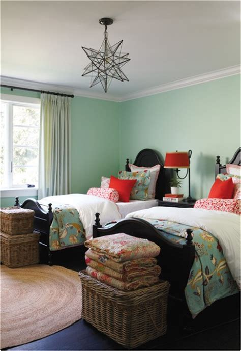 two twin beds key interiors by shinay decorating girls room with two