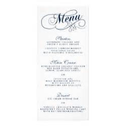 burns menu template menus gifts menus gift ideas on zazzle ca