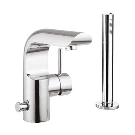bathtub mixer elite bath shower mixer with kit in elite luxury