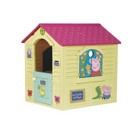 casitas de juguetes para jardin casita para jard 237 n de peppa pig de f 225 brica de juguetes