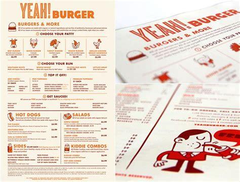 design menu burger 25 inspiring restaurant menu designs zink creative